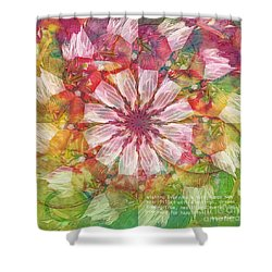 To Everyone Happy New Year Shower Curtain by Deborah Benoit
