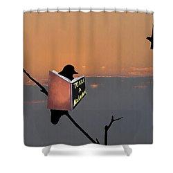 To Kill A Mockingbird Shower Curtain by Bill Cannon