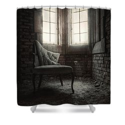 To Light The Way Shower Curtain by Margie Hurwich