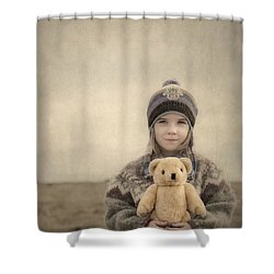 Together They Dream Into The Evening Shower Curtain by Evelina Kremsdorf
