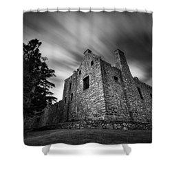 Tolquhon Castle Shower Curtain by Dave Bowman
