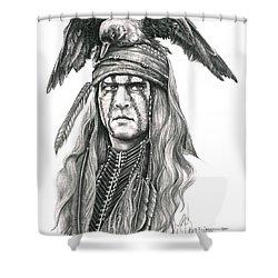 Tonto Shower Curtain by Murphy Elliott