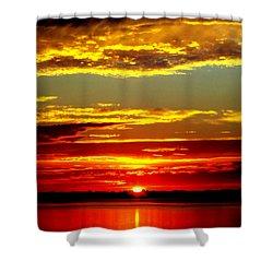 Topsail Island Shower Curtain by Karen Wiles