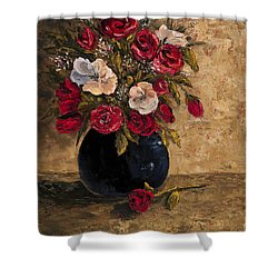 Touch Of Elegance Shower Curtain by Darice Machel McGuire
