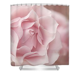 Touch Of Love Shower Curtain by Kim Hojnacki
