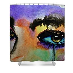 Tougher Than You Think Shower Curtain by Michael Cross