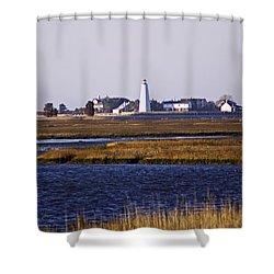 Toward Saybrook Shower Curtain by Joe Geraci