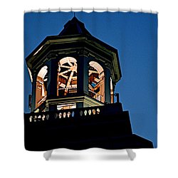Tower Shower Curtain by Joseph Yarbrough