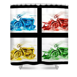 Tractor Mania Iv Shower Curtain by Kip DeVore