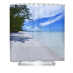 Tranquility Shower Curtain by Chad Dutson