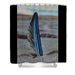 Tranquility Shower Curtain by Jackie Mestrom