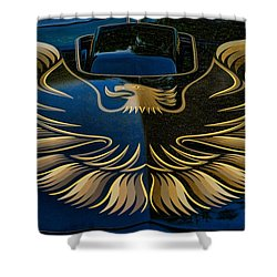 Trans Am Eagle Shower Curtain by Paul Ward