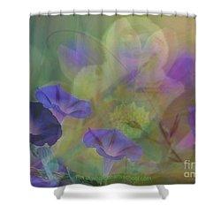 Transformation Shower Curtain by PainterArtist FIN