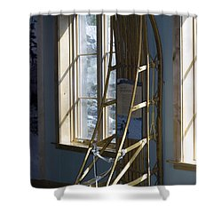 Transportation Shower Curtain by Tara Lynn