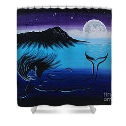Treasure Her Shower Curtain by A Cyaltsa Finkbonner