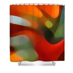 Tree Light 4 Shower Curtain by Amy Vangsgard