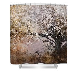 Tree Whispers Shower Curtain by Amy Weiss