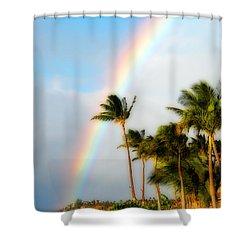 Tropical Dreamin' Shower Curtain by Lynn Bauer