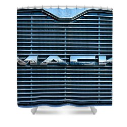 Truck - The Mack Grill Shower Curtain by Paul Ward