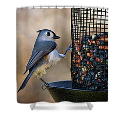 Tufted Stance Shower Curtain by Lana Trussell