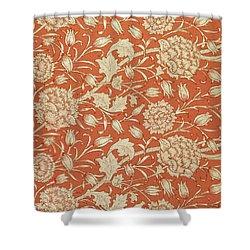 Tulip Wallpaper Design Shower Curtain by William Morris