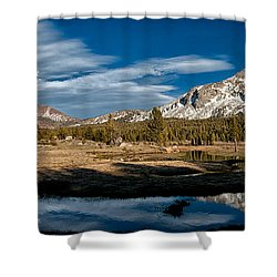 Tuolumne Meadows Shower Curtain by Cat Connor