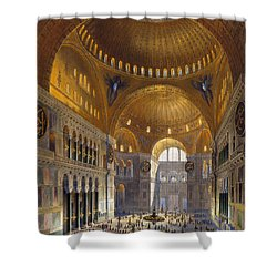 Turkey: Hagia Sopia, 1852 Shower Curtain by Granger