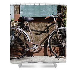 Twin Flats Shower Curtain by Bob Phillips