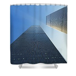 Twin Towers Shower Curtain by Jon Neidert