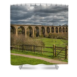 Ty Mawr Country Park Shower Curtain by Adrian Evans