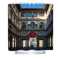 Uffizi Shower Curtain by Inge Johnsson