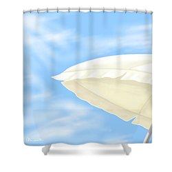 Umbrella Shower Curtain by Veronica Minozzi