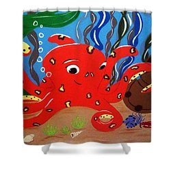 Under The Sea Shower Curtain by Tami Dalton