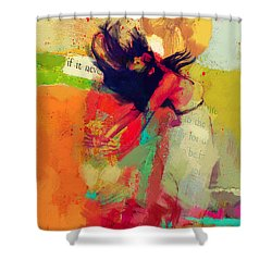 Under The Sun Shower Curtain by Corporate Art Task Force