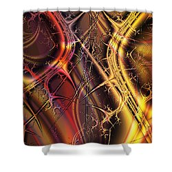 Under The Surface Shower Curtain by Anastasiya Malakhova
