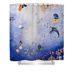 Underwater World Iv  Shower Curtain by Odile Kidd