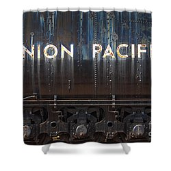 Union Pacific - Big Boy Tender Shower Curtain by Paul W Faust -  Impressions of Light
