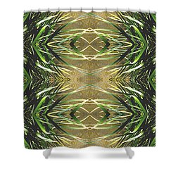 Unnatural 16 Shower Curtain by Giovanni Cafagna