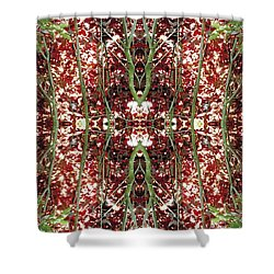 Unnatural 23 Shower Curtain by Giovanni Cafagna