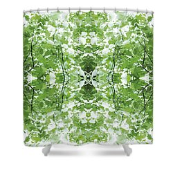 Unnatural 34 Shower Curtain by Giovanni Cafagna