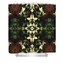 Unnatural 43 Shower Curtain by Giovanni Cafagna