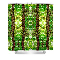 Unnatural 74 Shower Curtain by Giovanni Cafagna