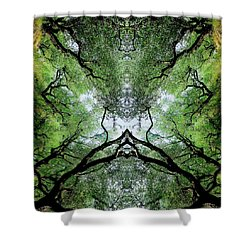 Unnatural 75 Shower Curtain by Giovanni Cafagna