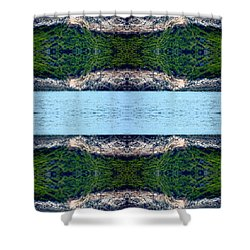 Unnatural 76 Shower Curtain by Giovanni Cafagna