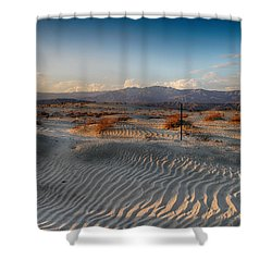 Unspoken Shower Curtain by Laurie Search