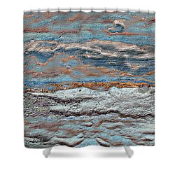 Untamed Sea 1 Shower Curtain by Carol Cavalaris