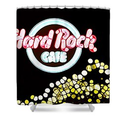 Urban Abstract Hard Rock Cafe Shower Curtain by Dan Sproul