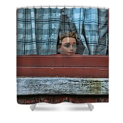 Urban Humor Shower Curtain by Allen Beatty