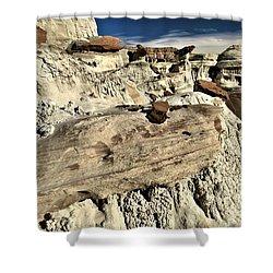 Utah Erosion Shower Curtain by Adam Jewell