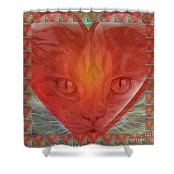 Valentine Gallery Number 3 Shower Curtain by PainterArtist FIN and Maestro